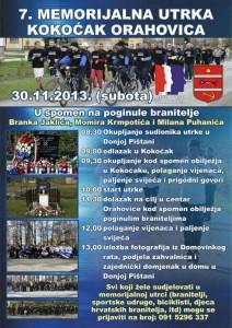 Kokočak - Orahovica 2013. plakat